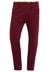 Scotch And Soda Chinos Bordeaux