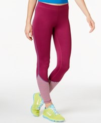Roxy Twilight Leggings Maroon