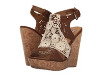 Not Rated Candace Tan Women's Wedge Shoes