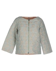 Scee By Twin Set Coats And Jackets Jackets Women Light Green