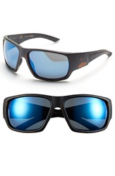 Smith Optics 'Dragstrip' 64Mm Polarized Sunglasses Tortoise Polar Blue Mirror