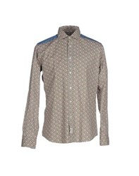 Massimo Rebecchi Shirts Shirts Men Military Green