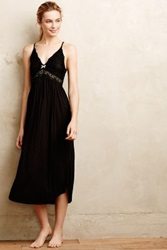 Anthropologie Eberjey Colette Long Gown Black S Intimates