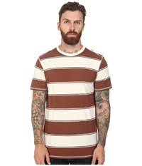 Tavik Newport Short Sleeve Knit Bone Brown Men's Clothing