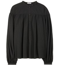 Tomas Maier Cotton Blouse Black