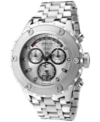 Invicta Men's Swiss Chronograph Subaqua Stainless Steel Bracelet Watch 52Mm 1565