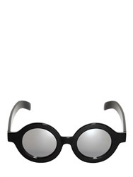 Cheap Monday Mirrored Round Frame Sunglasses