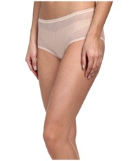 Ongossamer Mesh Clean Edge Modern Brief 020850 Champagne Women's Underwear Gold