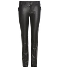 Stouls Jerry Leather Trousers Black