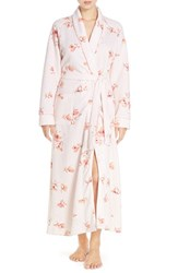 Carole Hochman Women's Quilted Floral Print Robe