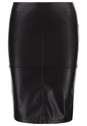 Only Onlticket Pencil Skirt Black