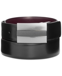 Kenneth Cole Reaction 35Mm Reversible Mixed Finish Plaque Belt