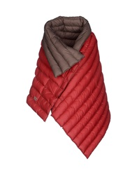 Douuod Capes Brick Red