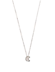 Pixie Market Promises Moon Necklace