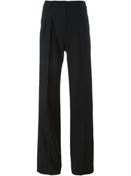 Dkny Wide Leg Trousers Black