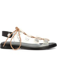 Alexander Wang 'Patricia' Sandals White