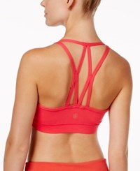 Gaiam Iris Low Mid Impact Sports Bra Electric Pink