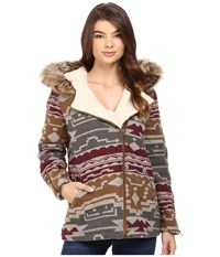 Volcom Showdown Jacket Bear Brown Women's Coat