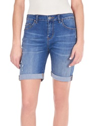 William Rast Stretch Denim Bermuda Shorts Sonora