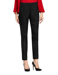 Vince Camuto Zippered Skinny Pants Black