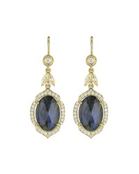 Penny Preville 18K Labradorite And Diamond Drop Earrings Gold