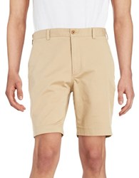 Brooks Brothers Cotton Chino Shorts Beige