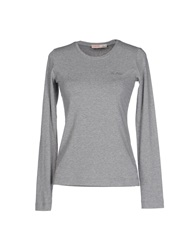 Liu Jo Jeans T Shirts Light Grey