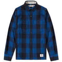 Neighborhood Logger Shirt Blue