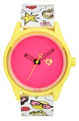 Harajuku Lovers Resin Solar Watch 40Mm Limited Edition Emoji Party