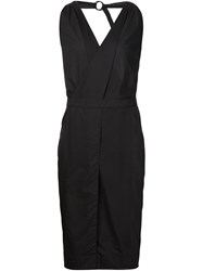 Alexandre Plokhov O Ring Dress Black