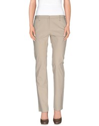 Thinple Trousers Casual Trousers Women Beige