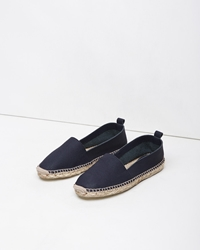 Flamingos Florida Slip On Espadrille Navy