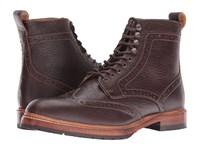 Stacy Adams Madison Ii Wingtip Lace Boot Brown Men's Lace Up Boots