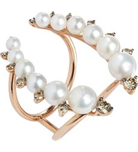 Annoushka Diamonds And Pearls Ring
