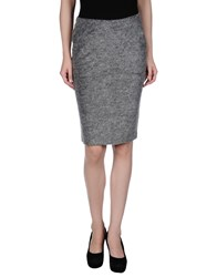 Siste's Siste' S Skirts Knee Length Skirts Women Grey