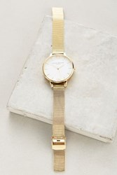 Anthropologie Darla Watch Gold