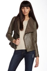 7 For All Mankind Genuine Leather Jacket