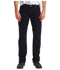 Ag Adriano Goldschmied Protege Straight Leg Sueded Stretch Sateen Navy Men's Jeans