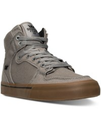 Supra Men's Vaider Casual Sneakers From Finish Line Storm Grey Gum