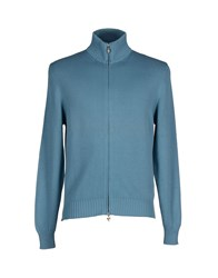 Jeckerson Knitwear Cardigans Men Sky Blue