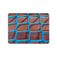 Ella Doran Blue Rope On Wood Placemat