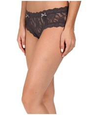 Hanky Panky Signature Lace Cheeky Hipster Granite Women's Underwear Gray