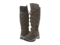 Baffin Madeleine Grey Women's Lace Up Boots Gray