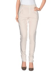 European Culture Trousers Casual Trousers Women Beige