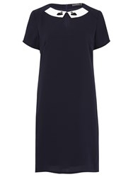 Sugarhill Boutique Nara Swan Tunic Dress Navy