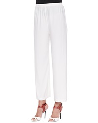 Caroline Rose Wide Leg Ankle Pants