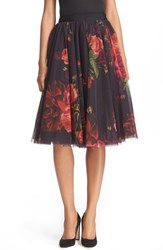 Ted Baker Women's London 'Ondra Juxtapose Rose' Tutu Midi Skirt