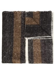 Denis Colomb 'Dolpo' Striped Shawl Brown