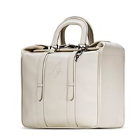 Ag By Anoesjcka Gianotti Briefcase Tote Cream Neutrals