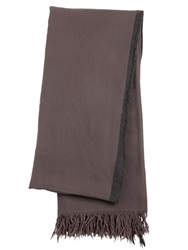Golden Goose Deluxe Brand Fringed Light Wool Knit Scarf